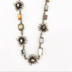 Ann Taylor Long Starburst Necklace